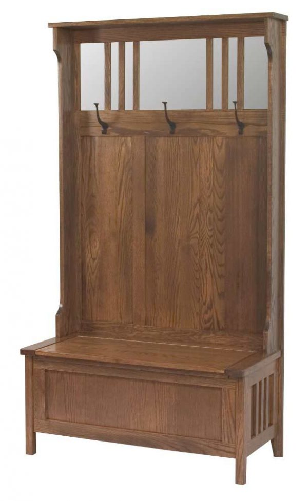 Rustic Hall Seat