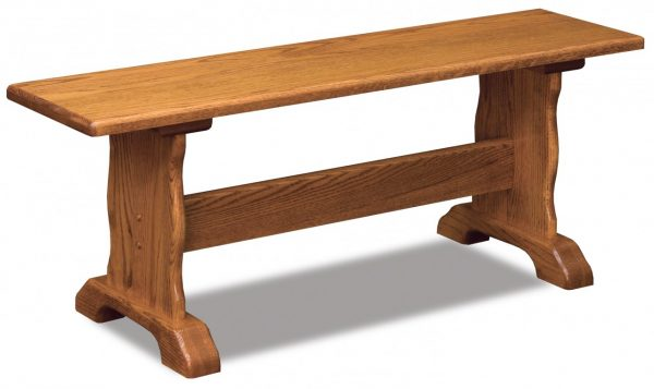 Traditional Trestle Bench
