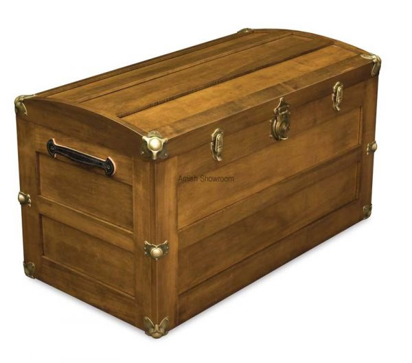 Trunk with Rounded Lid
