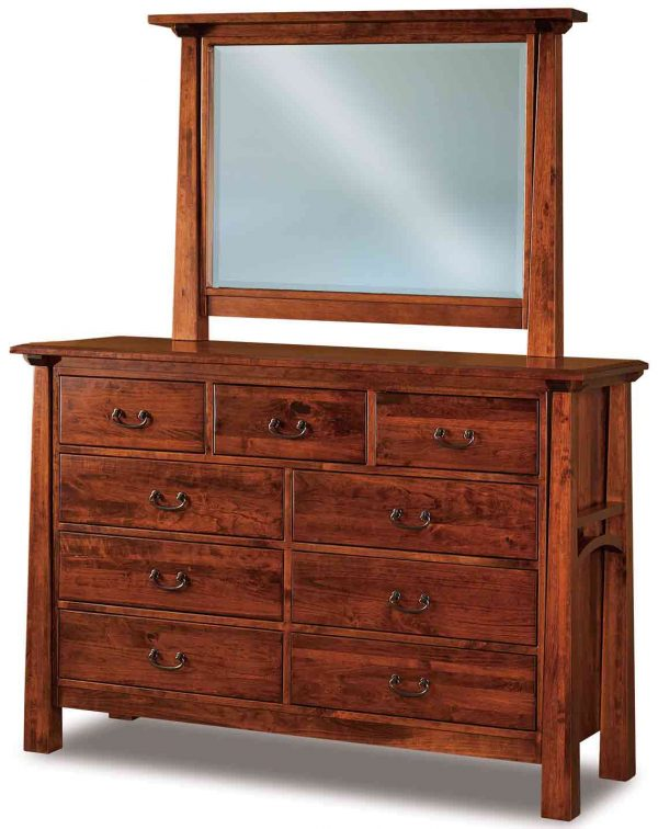 Artesa 9 Drawer Dresser 058 w additional mirror