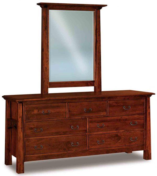Artesa 7 Drawer Dresser 072 w additional mirror