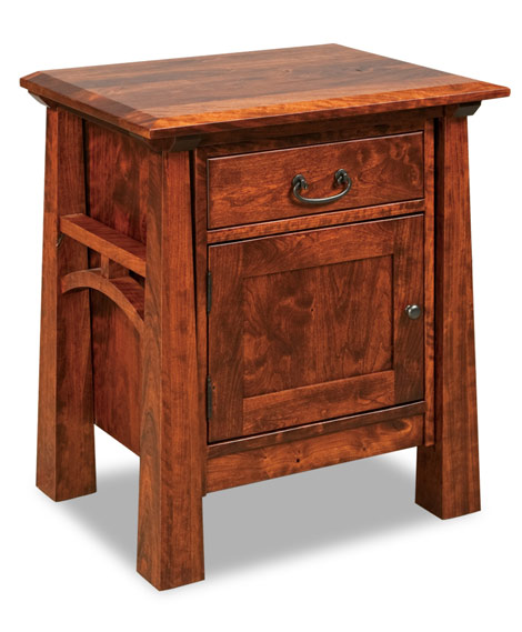 Artesa 1 Drawer 1 Door Nightstand 022