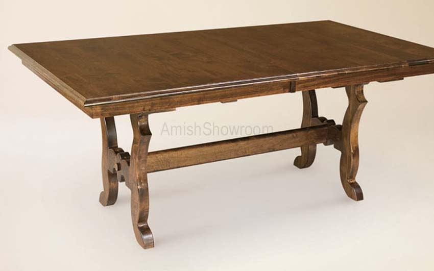 Abilene Trestle   Buy Custom Amish Furniture   Amish Furniture For Sale In  Coates, MN   Amish Showroom
