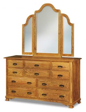 Hoosier Heritage 10 Drawer Dresser JRH 066