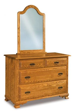 Hoosier Heritage 4 Drawer Dresser 051-1