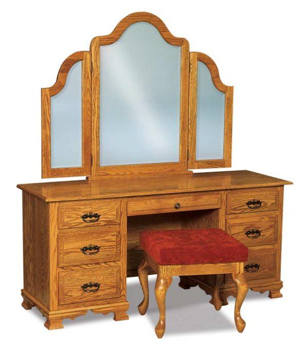Hoosier Heritage Shorter Tri-View Mirror 049-2