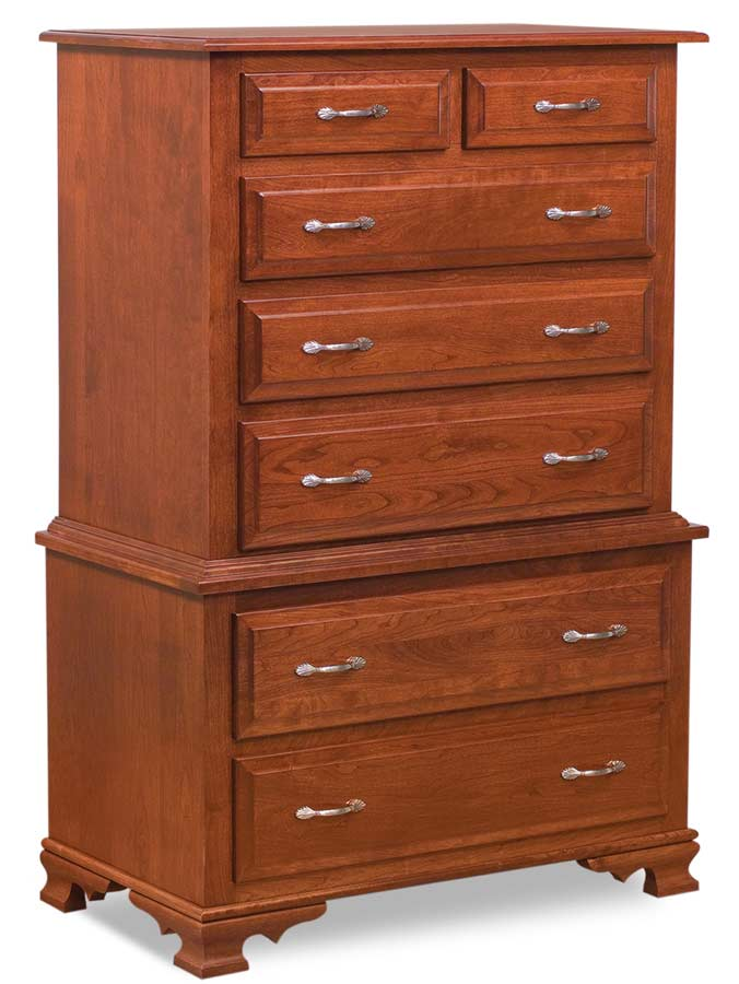 7 Drawer JRH Chest-on-chest
