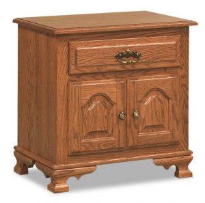 Hoosier Heritage 1 Drawer 2 Door Nightstand 026
