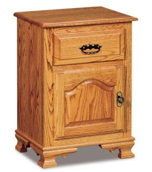 1 Drawer 1 Door Nightstand