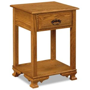 Hoosier Heritage 1 Drawer Nightstand JRH 019