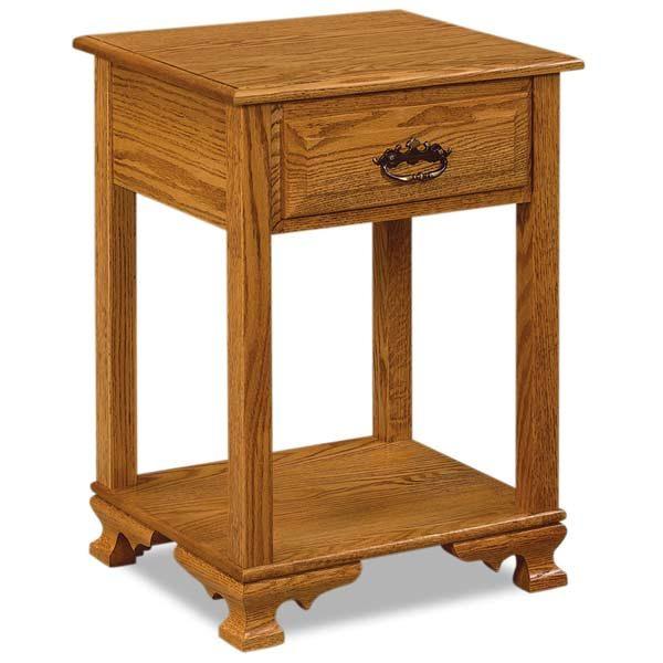 Hoosier Heritage 1 Drawer Nightstand JRH 019