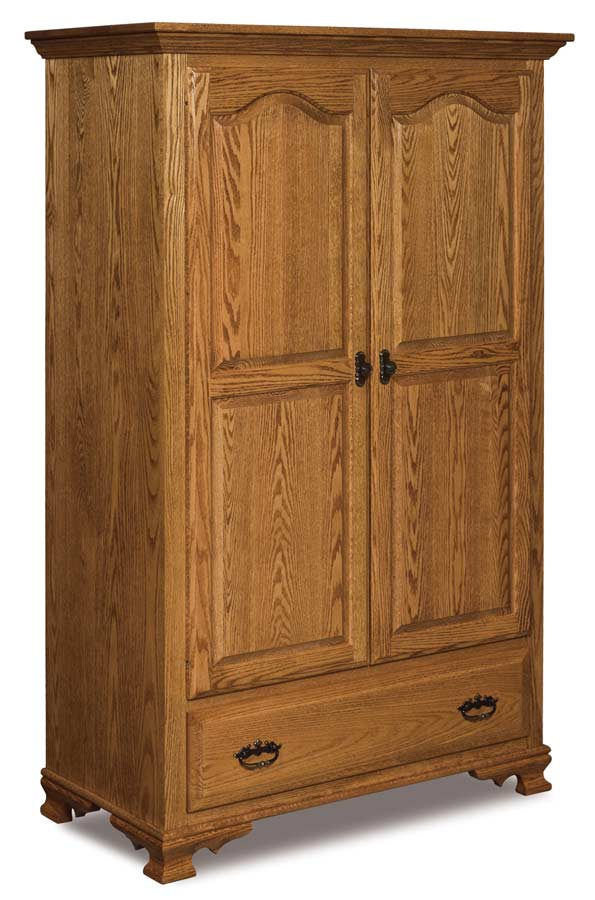 Etonnant Hoosier Heritage Wardrobe Armoire JRH 050   Buy Custom Amish Furniture |  Amish Furniture For Sale In Coates, MN | Amish Showroom