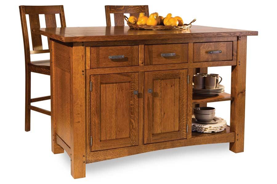 Brunswick Island  sc 1 st  Amish Showroom & Amish Kitchen Cabinets | Custom American Made Kitchen Cabinets ...