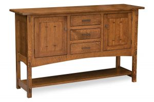 Crestline Sideboard shown in 2 door 3 drawer