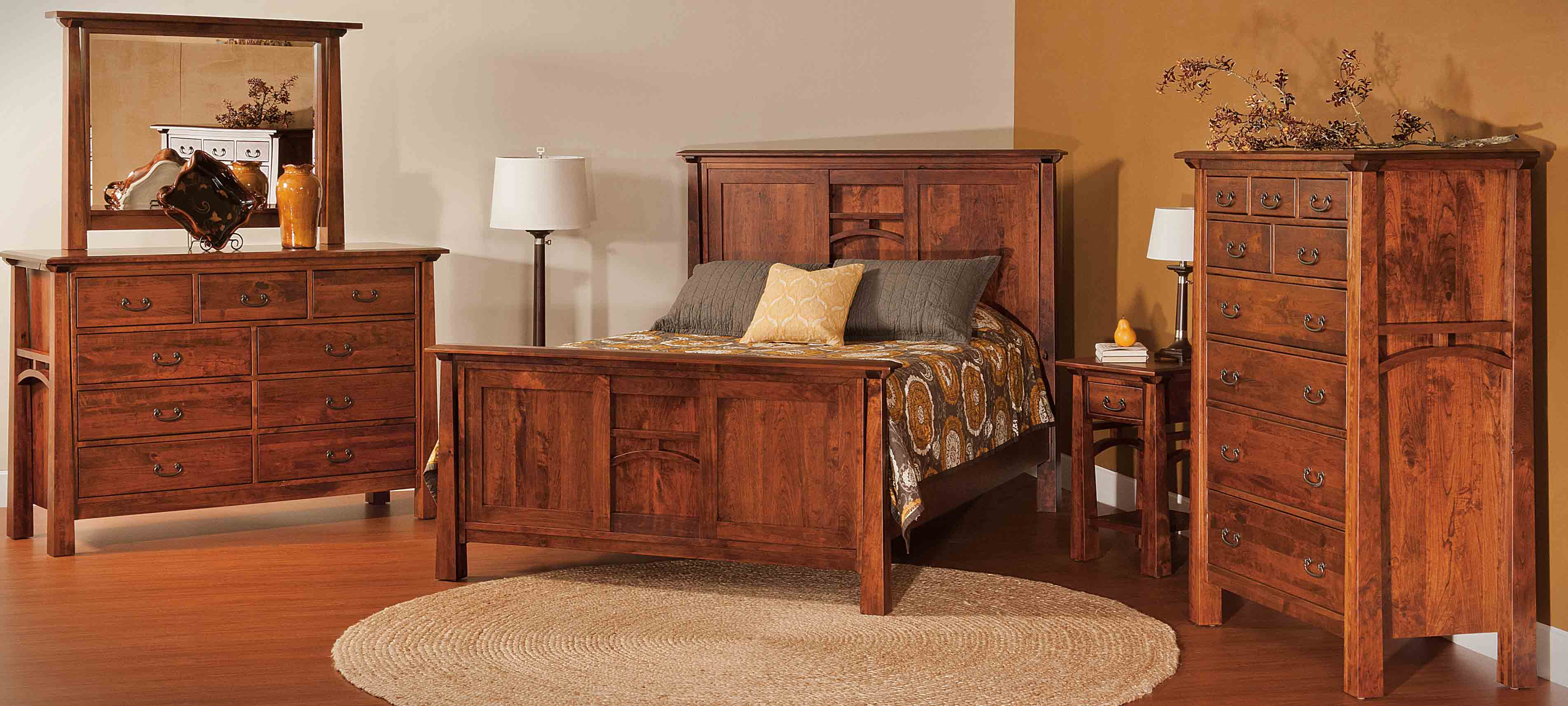 amish bedroom sets sleigh style furniture amish showroom 10076