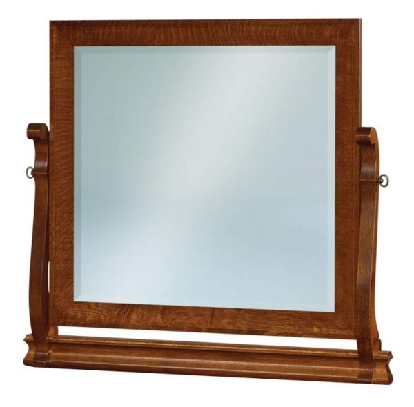 Old Classic Sleigh Beveled Swinging Mirror JRO 030