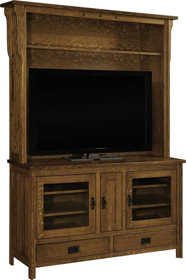 Royal Mission Console and Hutch SC 60H