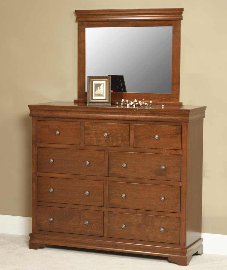 luxembourg tall dresser tr6006 buy custom amish furniture amish furniture for sale in coates. Black Bedroom Furniture Sets. Home Design Ideas
