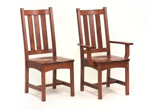 Vintage Mission Chairs