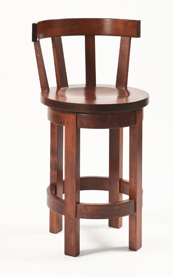 Barrel Barstool Meribeth top