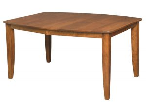 Madison Leg Table boat shape top