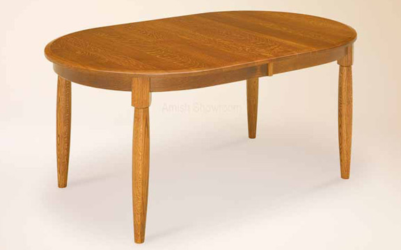 Oval easton leg table for in dining tables by for Dining room tables easton
