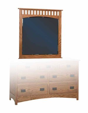 Schwartz Mission Mirror - Amish Built - Solid Wood