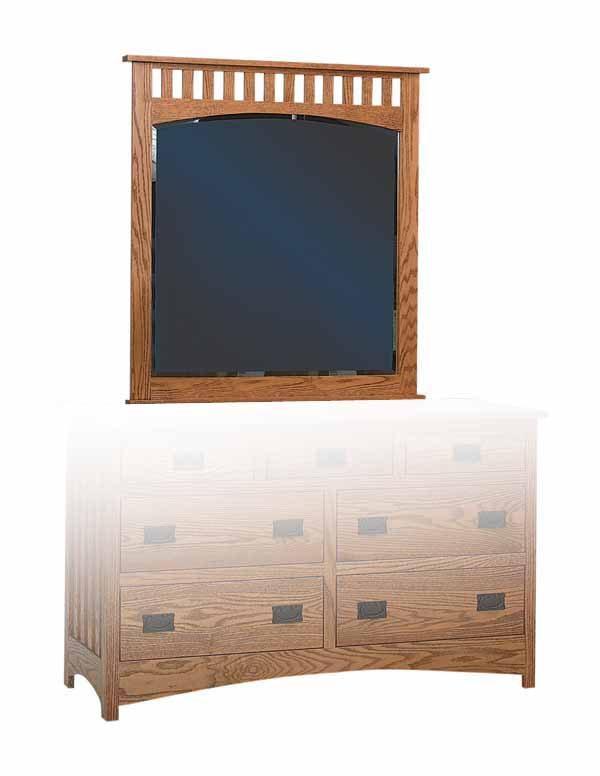 Schwartz Mission Mirror - Amish Built - Solid Wood