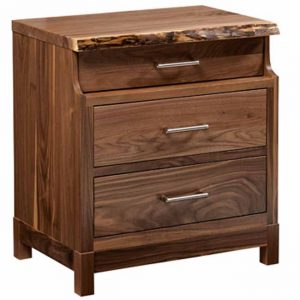 Westmere 3 Drawer Nightstand