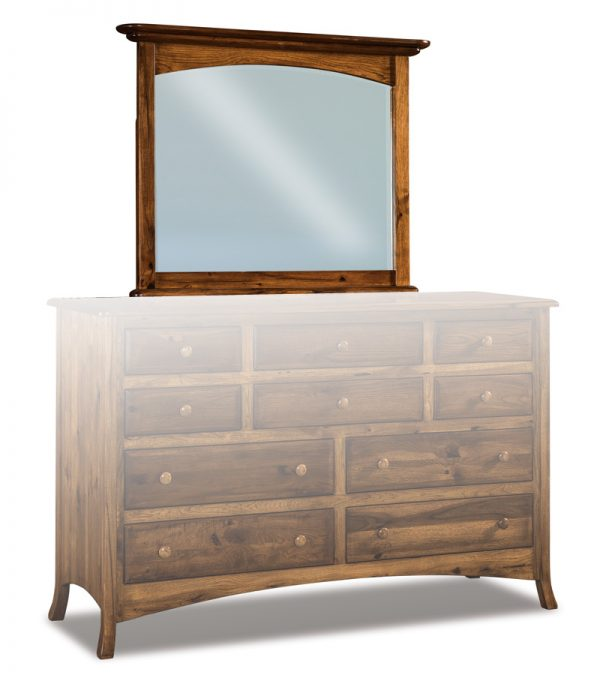 Carlisle Beveled Arched Crown Mirror