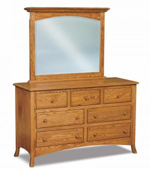 Carlisle 7 Drawer Dresser with optional mirror
