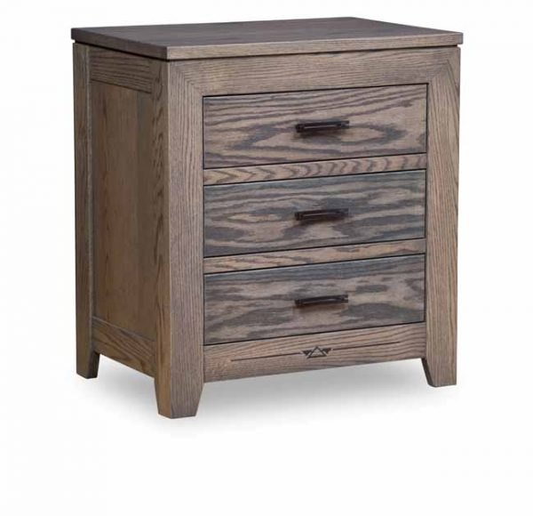 Addison 3 drawer nightstand