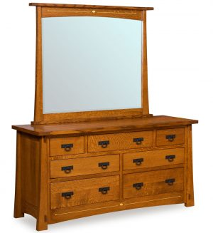 Mesa 7 Drawer Dresser