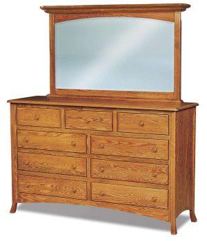 Carlisle 9 Drawer Mule Dresser