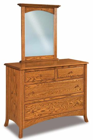 Carlisle 4 Drawer Dresser