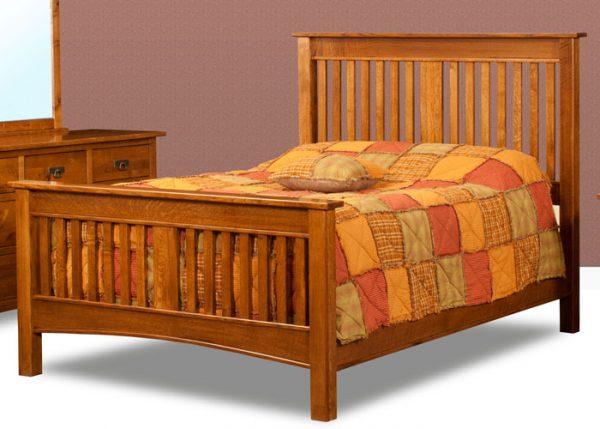 Classic Mission Slat Bed