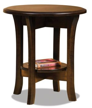 Ensenada Round End Table FVET-22R-EN