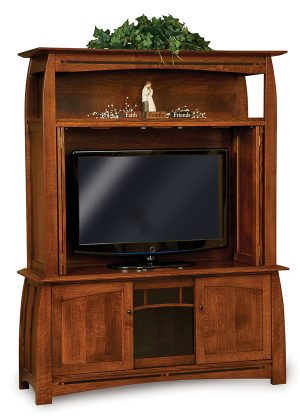 Boulder Creek Entertainment Cabinet/Center FVE-2060-BC