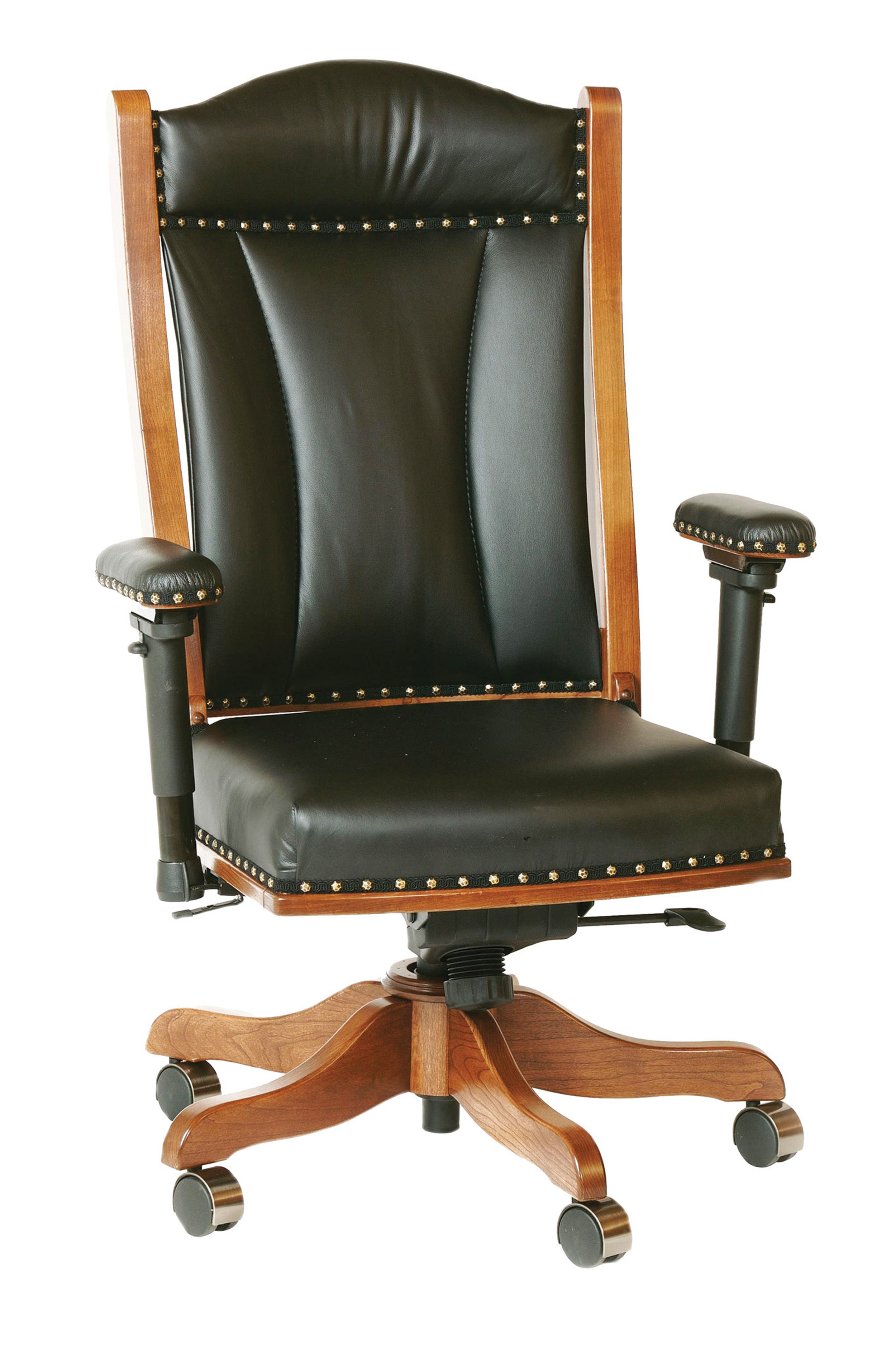 Desk Chair With Adjule Arms Dca65