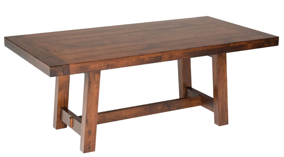 Beaumont Breadboard Pullout Table