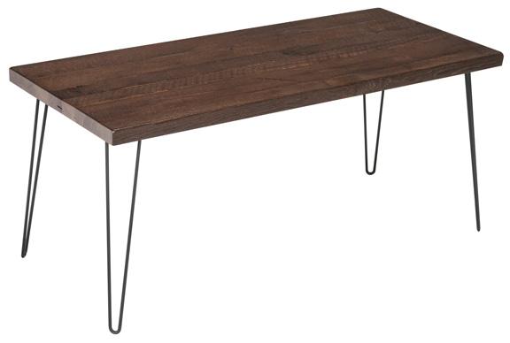 Silverton Heirpin Leg Table