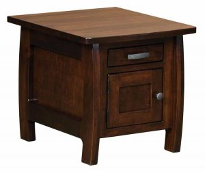 Grand Teton Cabinet End Table