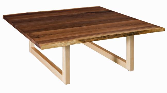 Kalispel Square Coffee Table Buy Custom Amish Furniture Amish
