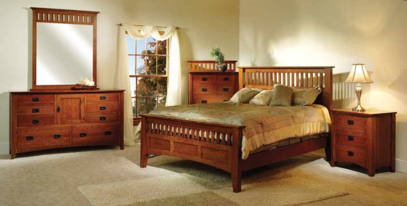 Amish bedrooms in Lakeville, Minnesota