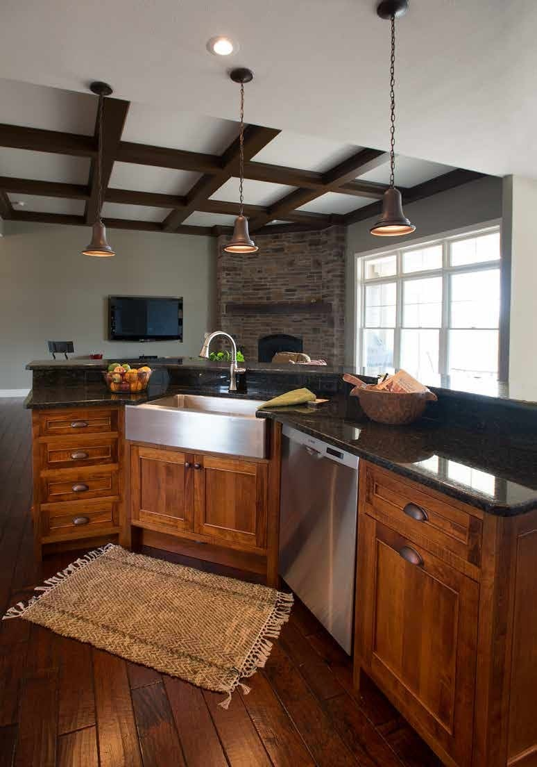 Custom Kitchen Cabinets | Made in the USA | Solid Wood