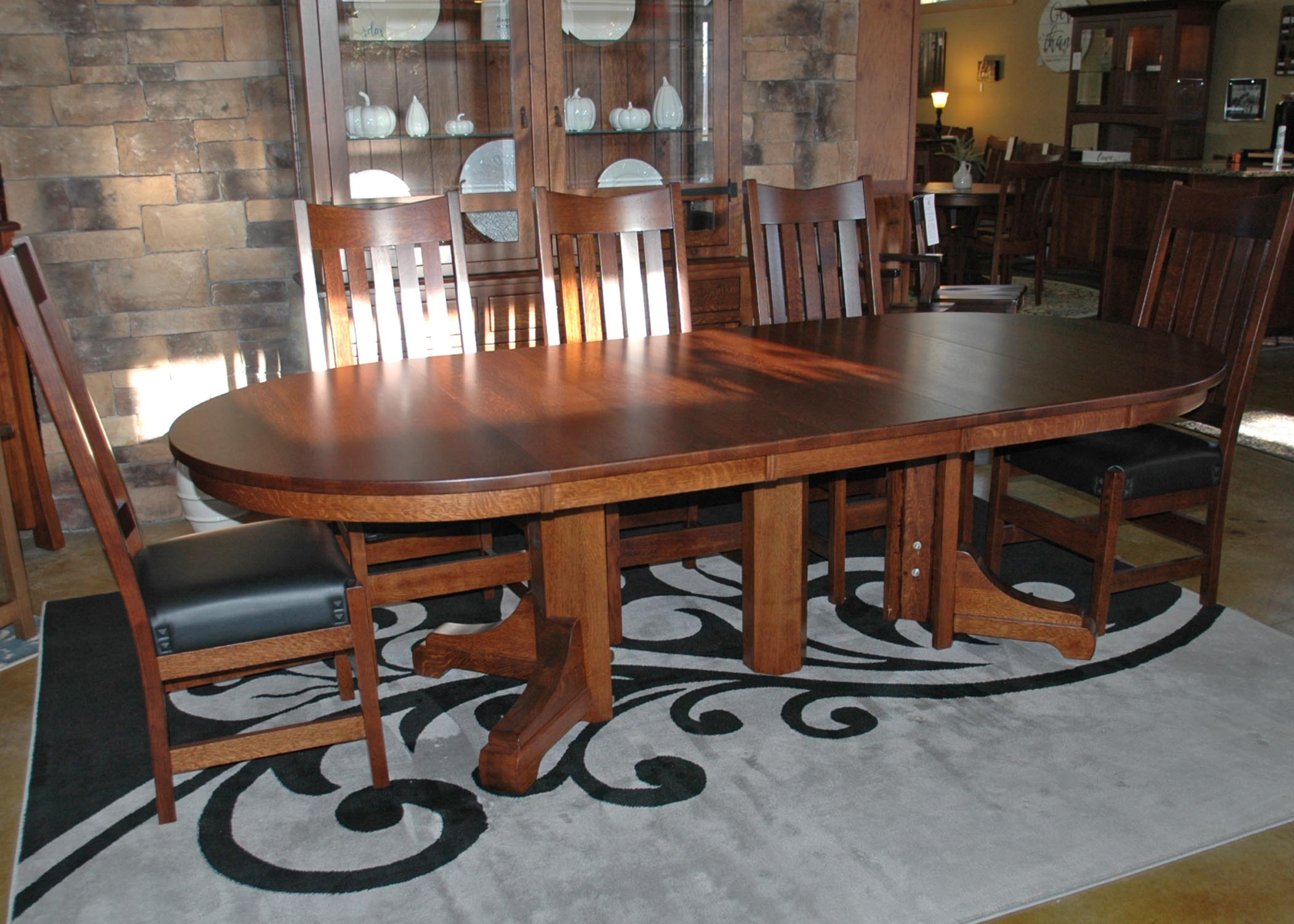 Monteray Table Buy Custom Amish Furniture Amish Furniture For