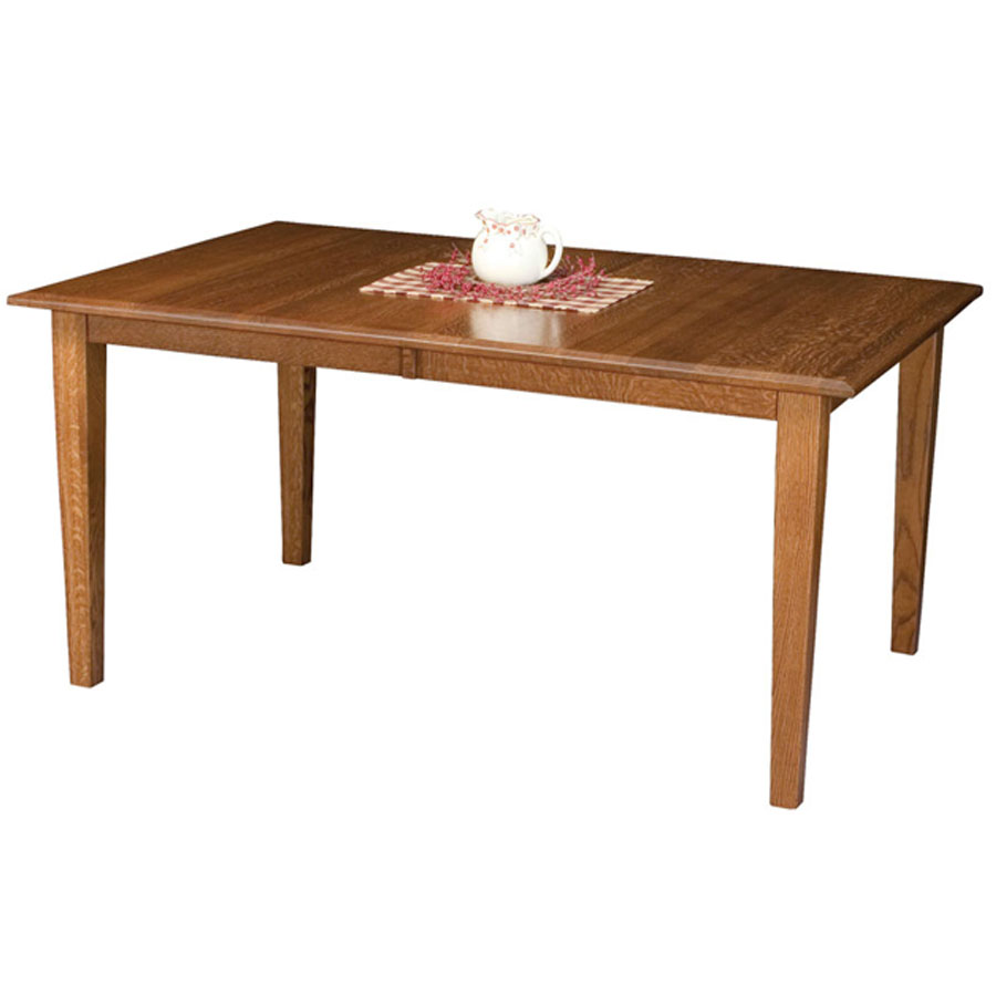 Mission Style Furniture Denver: Denver Leg Table - Buy Custom Amish Furniture