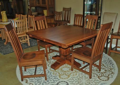 Sensational Amish Dining Tables Buy Custom Amish Furniture Amish Interior Design Ideas Inesswwsoteloinfo