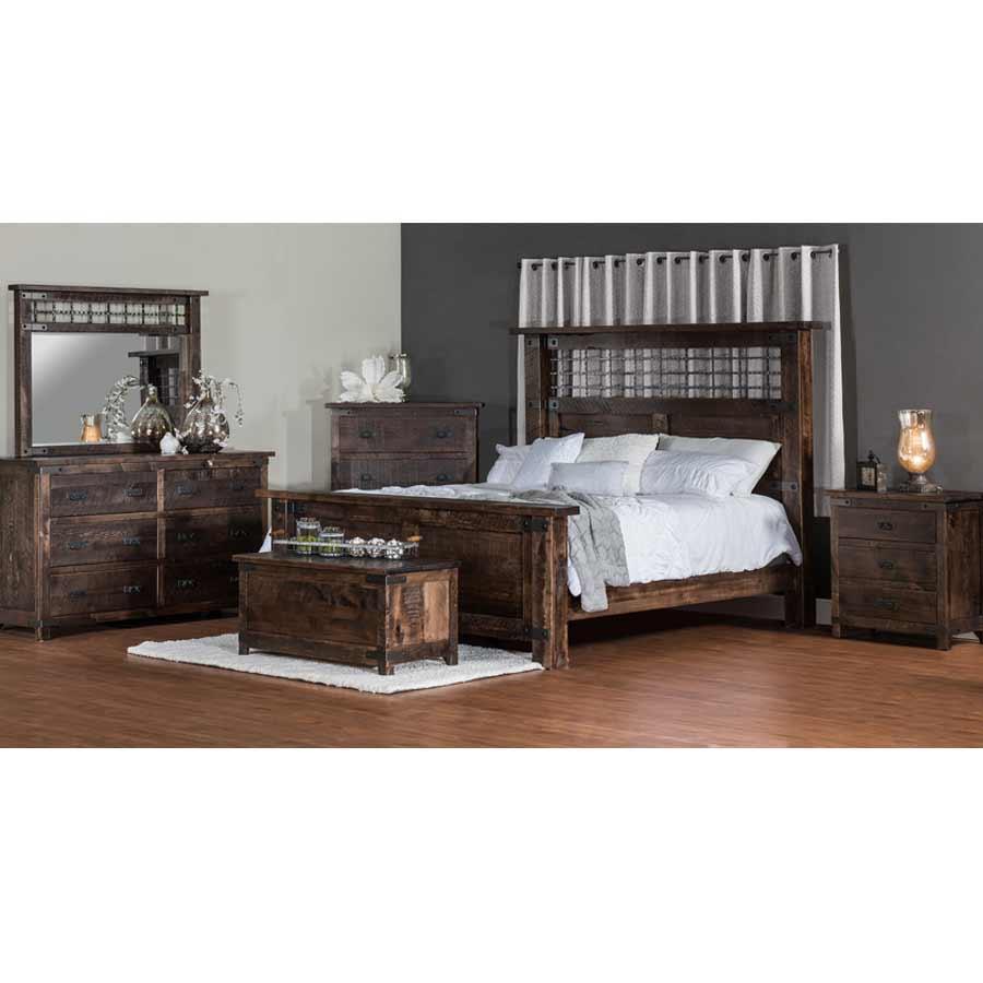 Ironwood Bed In Bedroom Buy Custom Amish Furniture