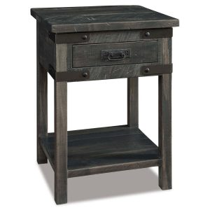 Ironwood 1 Drawer Nightstand 019